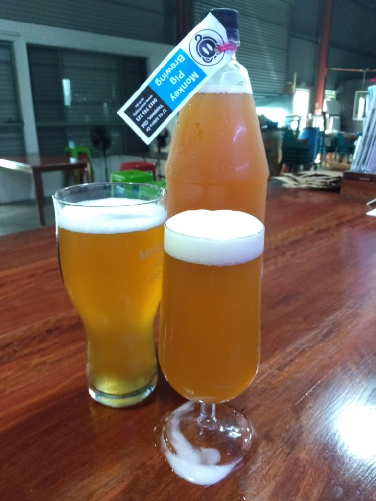 Pale Ales from Monkey Pig Brewery
