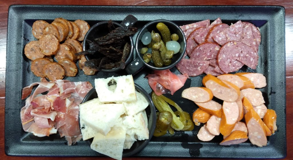 Cold meat plate